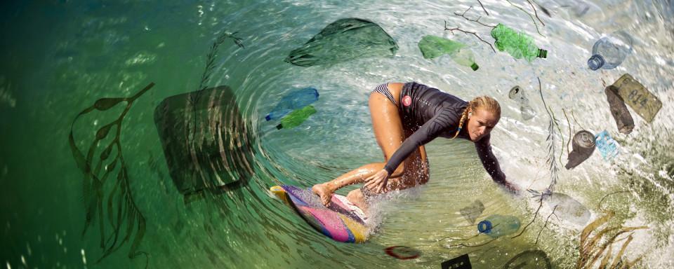 Campagnebeeld Dopper Plastic Wave