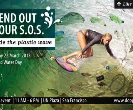 Voor mens en dier een plastic vrije oceaan.