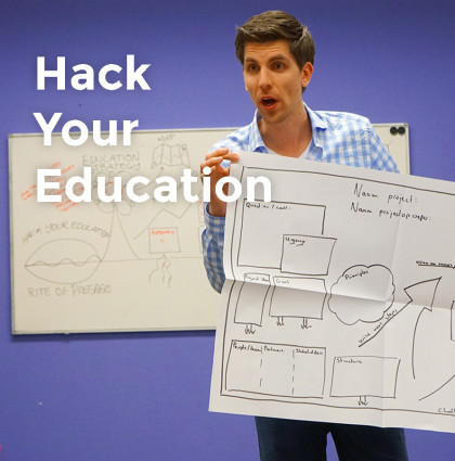 Hack Your Education | Conceptontwikkeling