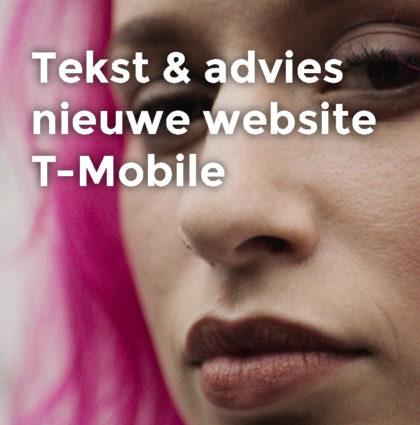T-Mobile zakelijk | tekst & advies